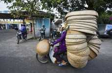 Authentic Cargo Captures - The Hans Kemp Bikes of Burden Photos Depict Urban Vietnamese Life