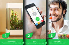 App-Connected Home Gardens (UPDATE) - Niwa Makes It Easy to Grow Your Own Food at Home