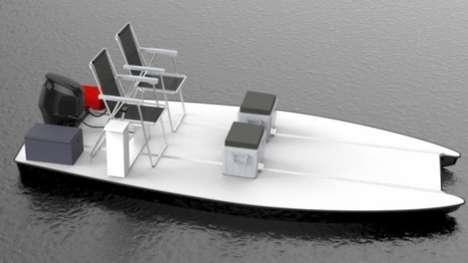 Minimalist Lounge Boats