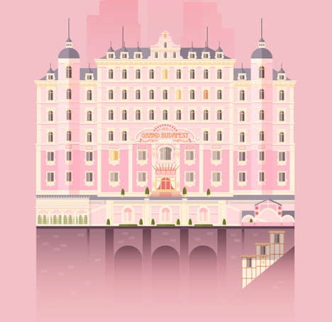 Pop Culture Hotel Illustrations