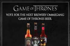 Lavish Medieval Libations (UPDATE) - Brewery Ommegang Let Fans Choose the Next GOT-Inspired Brew