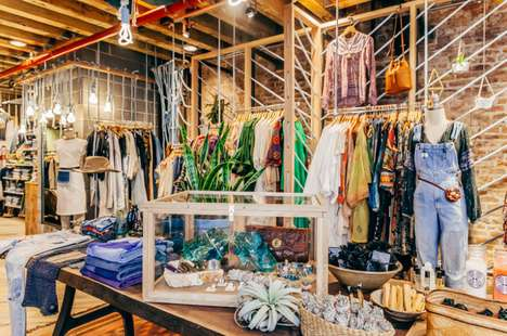 Hipster Lifestyle Boutiques - Urban Outfitter's Space Ninety 8 Offers Completely Unique Products