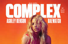 Sizzling Neon Editorials - The Complex Magazine June/ Issue Features Ashley Benson