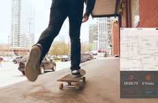 Skateboard Stunt Capture Apps - The Syrmo App Makes Tracking Your Tricks and Learning to Skate Easy