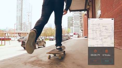 Skateboard Stunt Capture Apps