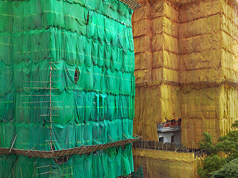 Cocooned Building Photos