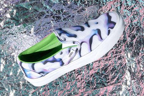 Watermarked Sneakers