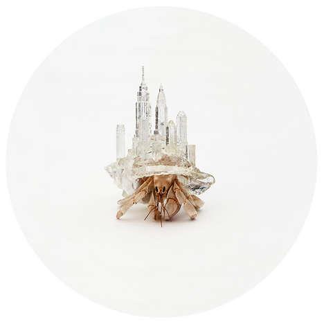 3D-Printed Crab Shells