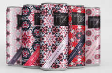 Kaleidoscopic Perfume Packaging - Potion67 is a Fictional Product by Ana Novakovic
