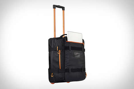 Tech-Friendly Luggage - The Travelteq Active Carry-On Bag Boasts a Convenient Side Pocket