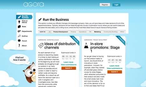 Transparent Crowdsourced Startups