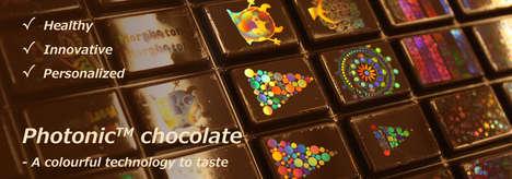 Holographic Printed Chocolates