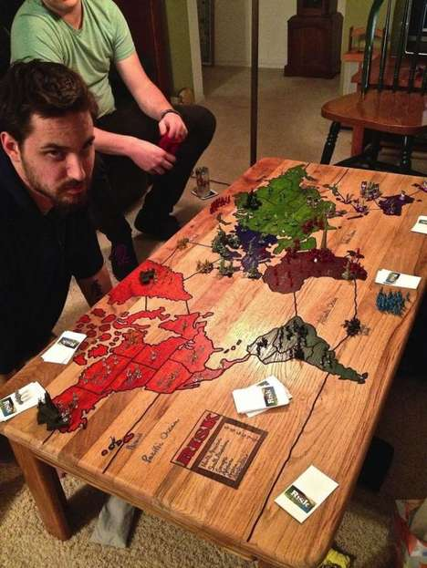 Board Game Coffee Tables