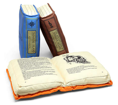 Cozy Up with the Olde Book Pillow Classics