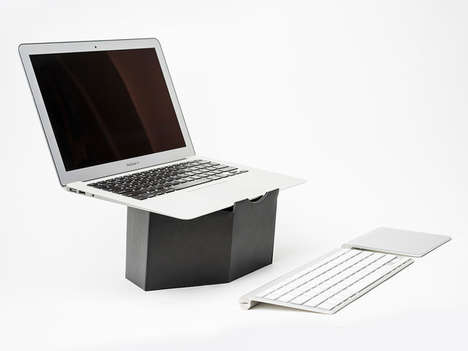 Posture-Perfecting Computer Stands