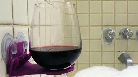 Shower Wine Holders
