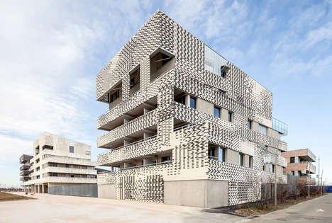 Monochromatic Bricked Abodes