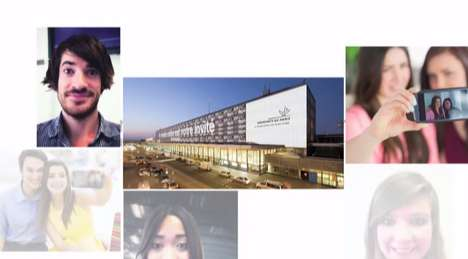 Gigantic Airport Selfie Campaigns