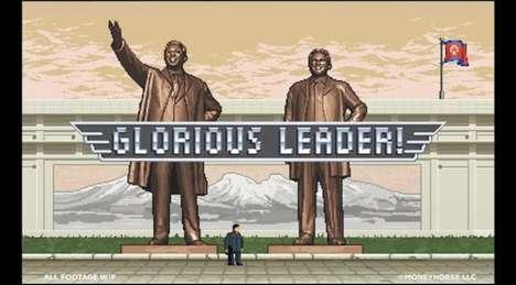 Satirical Supreme Leader Games