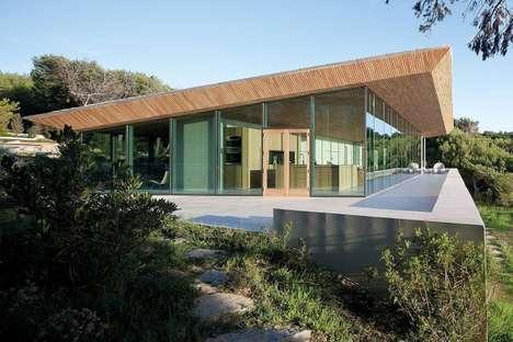 Wood-Roofed Residences