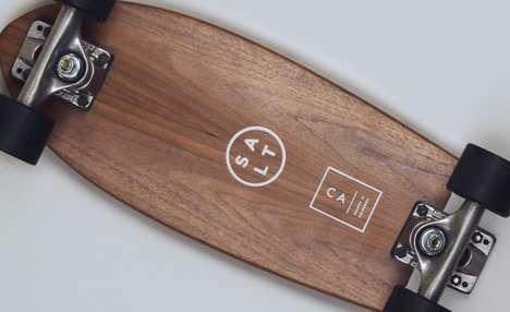 Swanky Wooden Skateboards