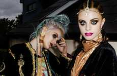 Enchantingly Witchy Editorials - The 9 Crow Street Lookbook Channels 'The Craft'