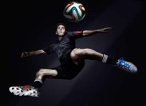 Warpaint-Like Soccer Shoes