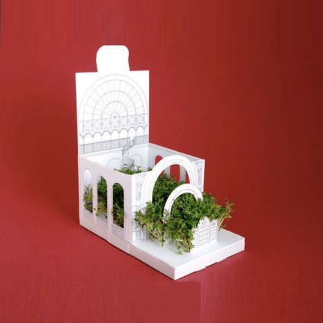 Architectural Pop-Up Planters
