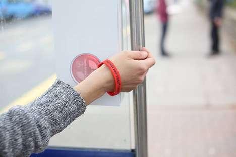 Political Awareness Wristband Scanners