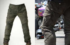 Armor-Embedded Pants
