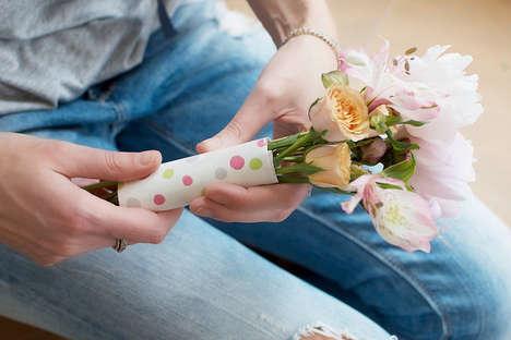 DIY Hidden Note Bouquets