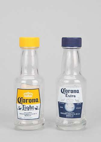 Beer-Labeled Spice Shakers - Mix Your Love of Beer and Spice with Salt and Pepper Corona Shakers