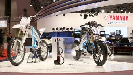 Groundbreaking Electric Motorbikes