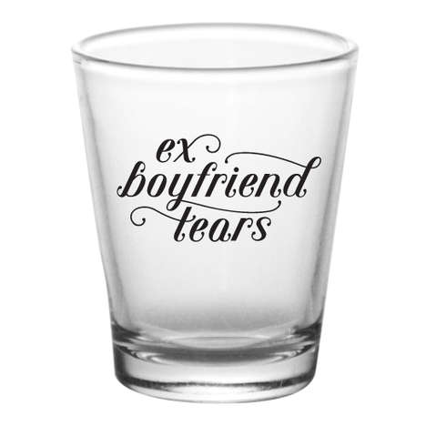 Break-Up Shot Glasses - The Ex-Boyfriend Shot Glass Will Help You Get Over Your Relationship