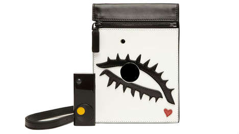 Picture-Taking Totes - You'll Never Have to Carry a Camera Around Again with a Lulu Guinness Handbag