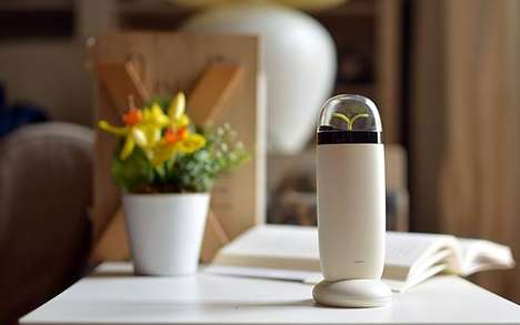 Smog Absorbing Air Purifiers - The EVE Ionizer is a Portable Purifier for Any Location
