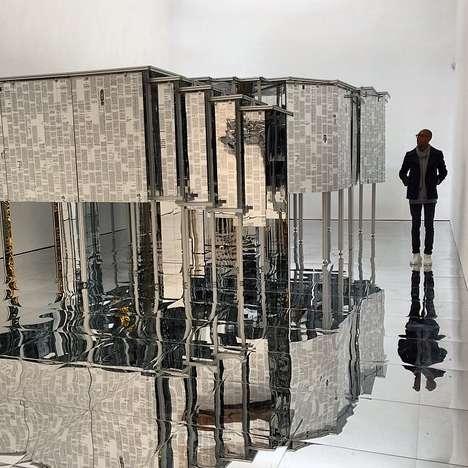 Mirrored Labyrinth Installations