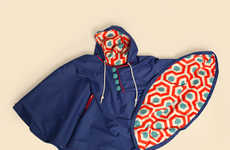 Music-Embedded Ponchos - The Radio Poncho by Liana Kong Plays Tunes Through the Hoodie