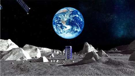 Lunar Thirst Quenchers - This Sports Drink is Made with Water From the Moon