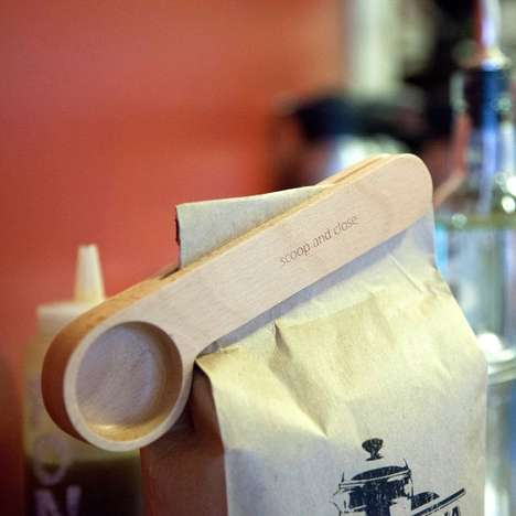 Brew to Perfection Using the Artistically Designed Wood Cafe Clip