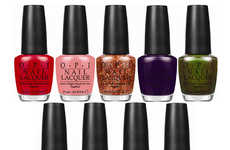Soda-Inspired Nail Polishes - The Coca-Cola by OPI Collection is Made with Iconic Beverages in Mind