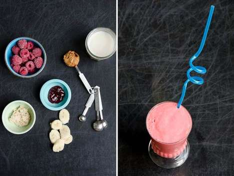 Nostalgic Sandwich Smoothies