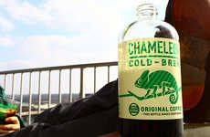 Cooling Coffee Drinks - The Chameleon Cold Brew Ice Coffee Collection Will Take Over Your Mornings