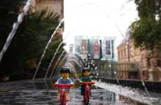 Travelling Toy Photos - LEGO Travellers Shows the Candid Travels of a LEGO Couple