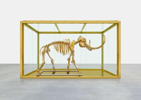 Gilded Mammoth Skeletons