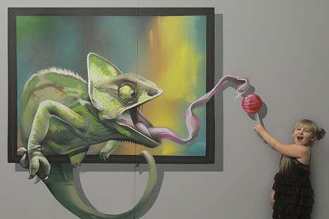 Illusively Interactive Wall Art