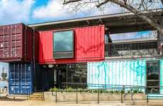 Shipping Container Bars - North Arrow Studio Set Up a Trendy New Hotspot Called 'Container Bar'