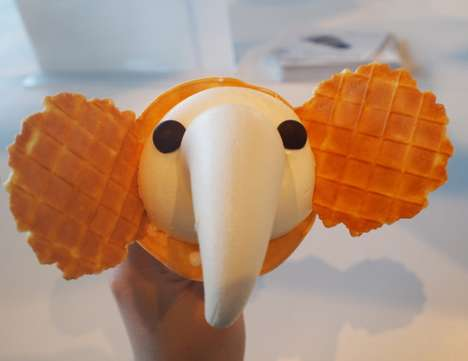 Elephantine Ice Cream Cones