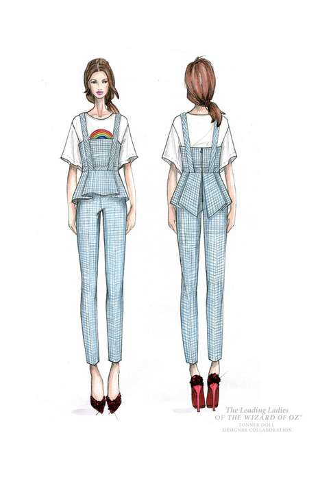 Designer-Clad Film Illustrations