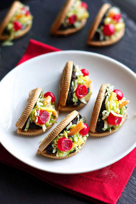 Deceiving Cookie Tacos